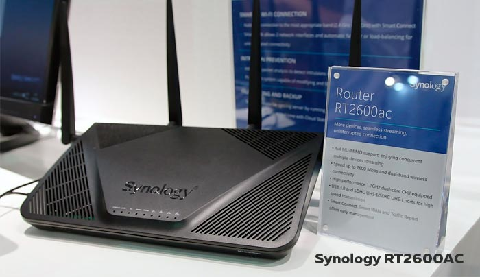 WiFi роутер Synology RT2600AC